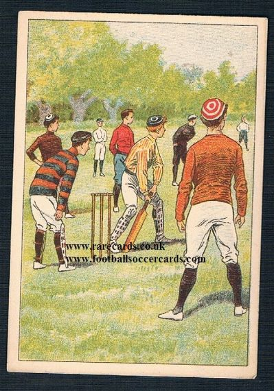 1890s French cricket trade card Union